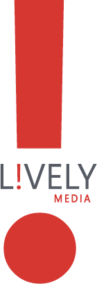 L!vely Media logo, Lively Media logo